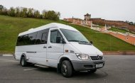 Mercedes-Benz Sprinter White